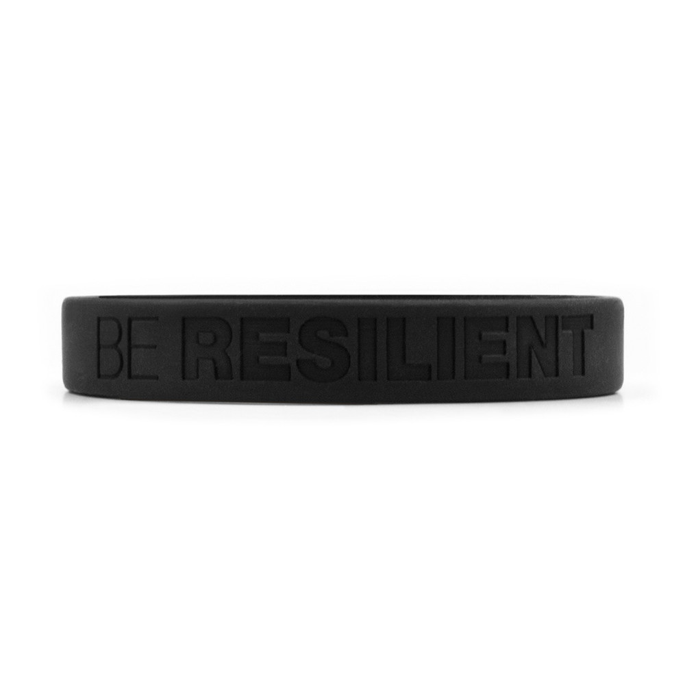 Be Resilient Wristbands (black)