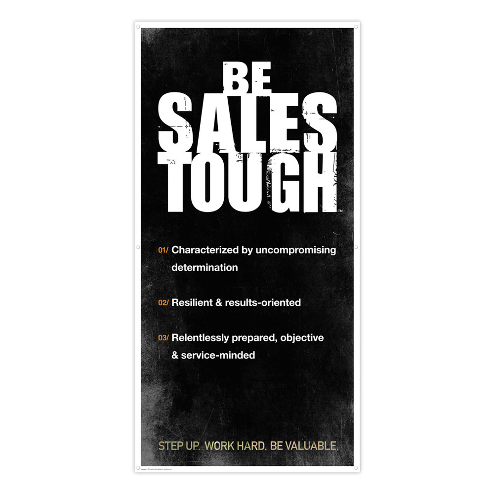 SalesTough 3 ft. x 6 ft. Banner