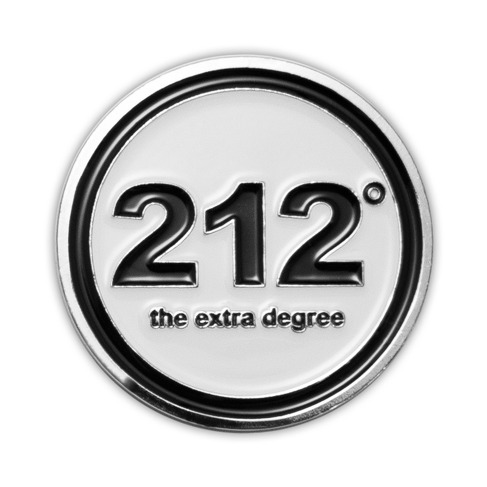 212° Golf Ball Marker (black)
