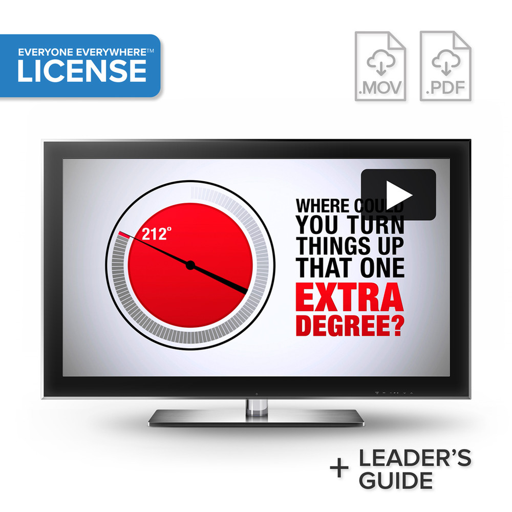 212° the extra degree Video License (organization-wide)