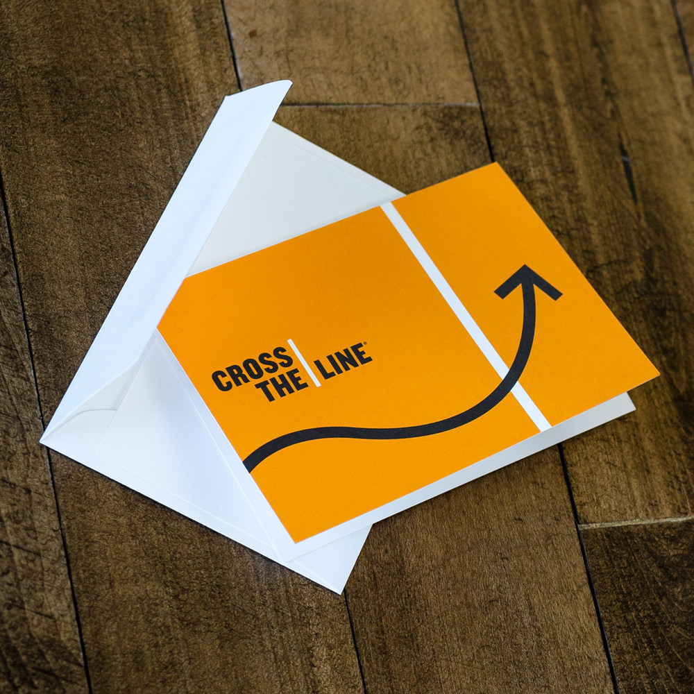 Cross The Line Cards (arrow)