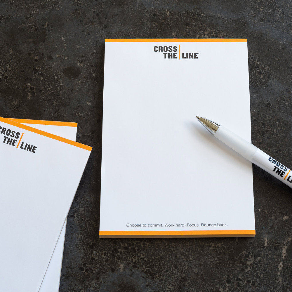 Cross The Line Notepads (3 pack)
