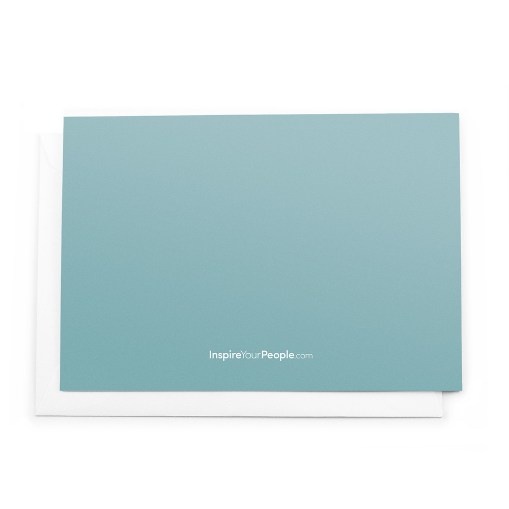 Thanks For Making Good Things Happen Cards (teal)