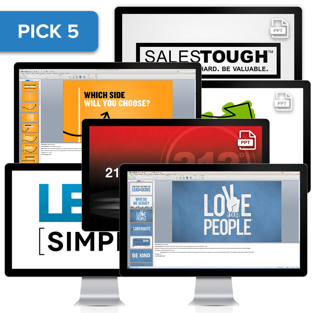 PowerPoint® Presentation Collection (Pick 5)