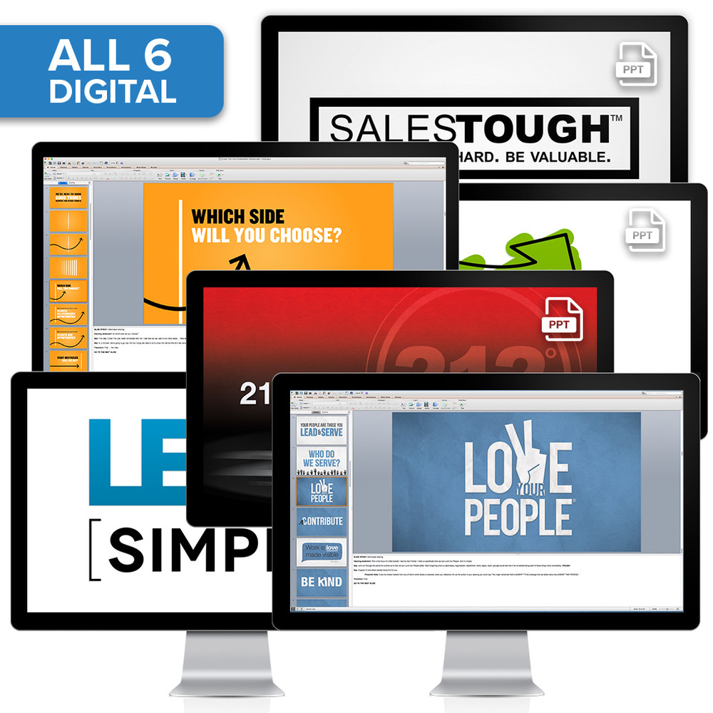 PowerPoint® Presentation Collection (All 6) - Digital Download