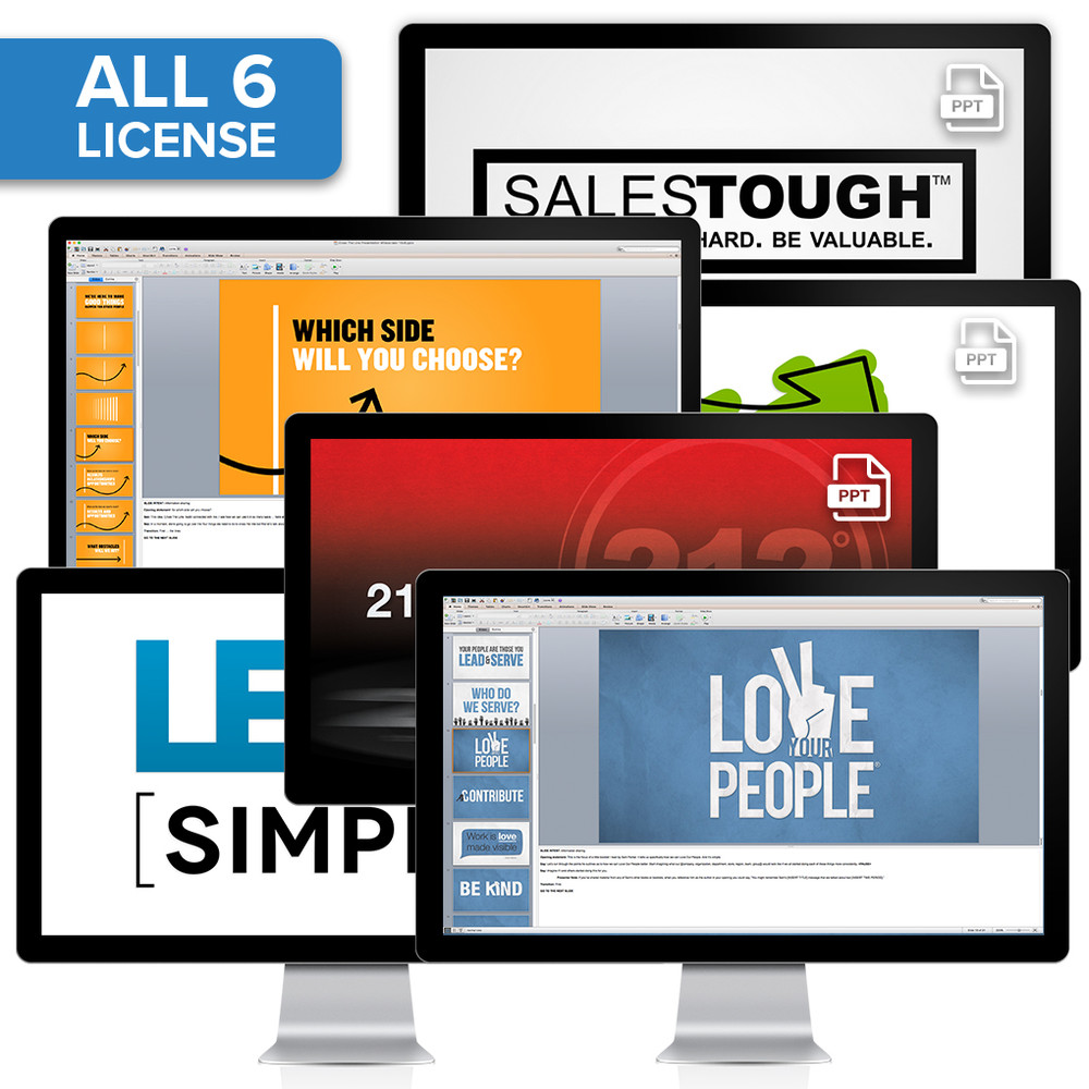 PowerPoint® Presentation Collection License (All 6 - organization-wide)