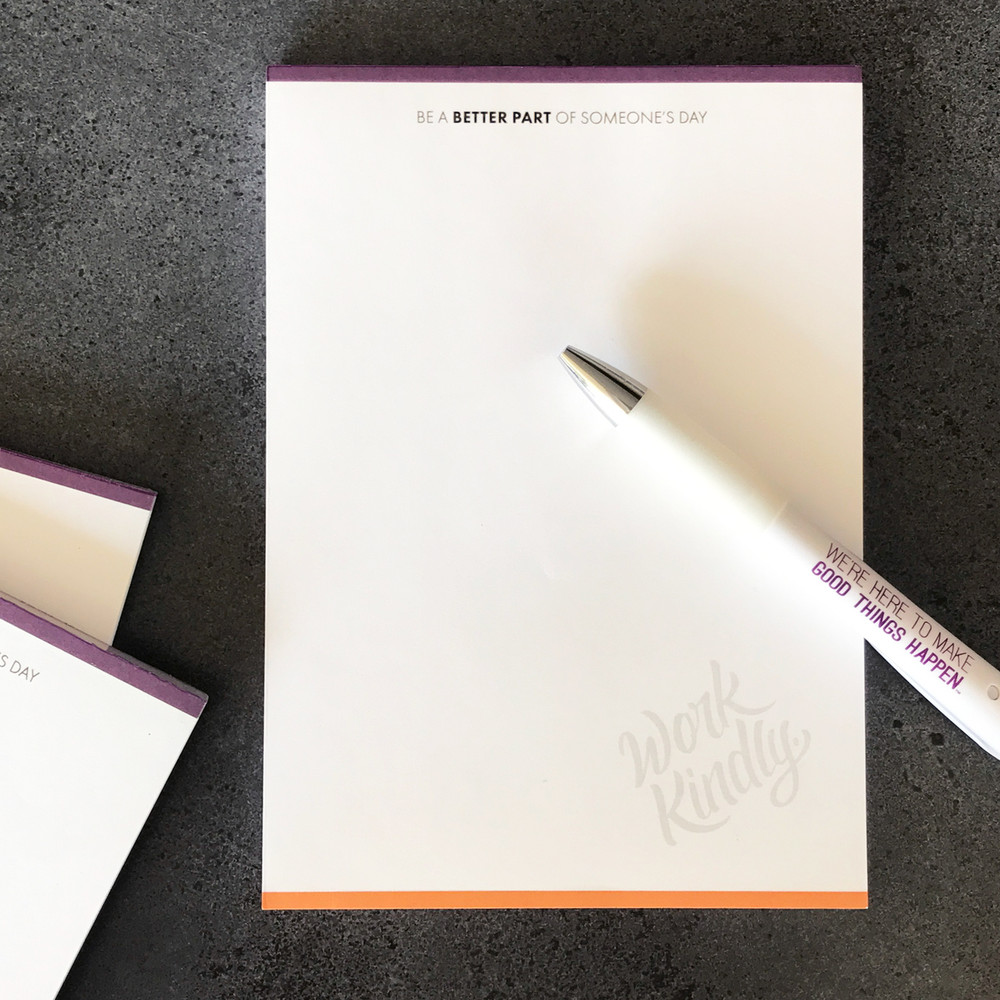 Work Kindly Notepads (3 pack)