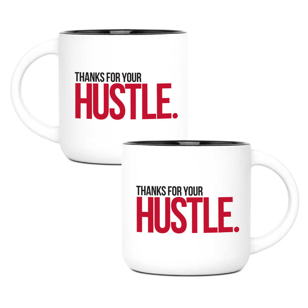 Thanks for Your Hustle (14oz) - Red