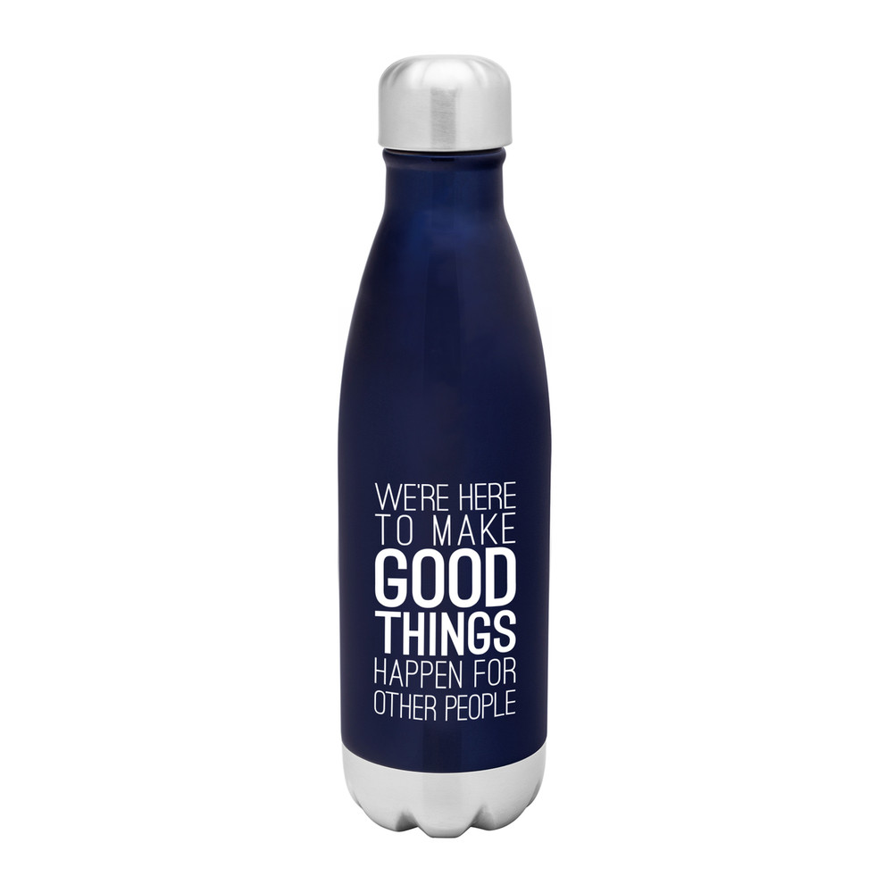 'Good Things' Stainless Steel Bottle (17oz Gloss)