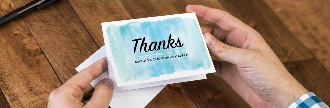 Thank You Cards, Inspiring Cards