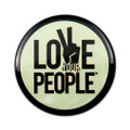 Love Your People Button - green