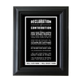 Declaration of Contribution 5 in. x 7 in. Framed Print (black)