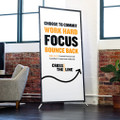 Cross The Line 3 ft. x 6 ft. Banner