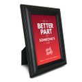 Work Kindly 5 in. x 7 in. Framed Print - red
