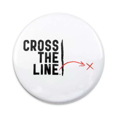 Cross The Line Button - Original Version