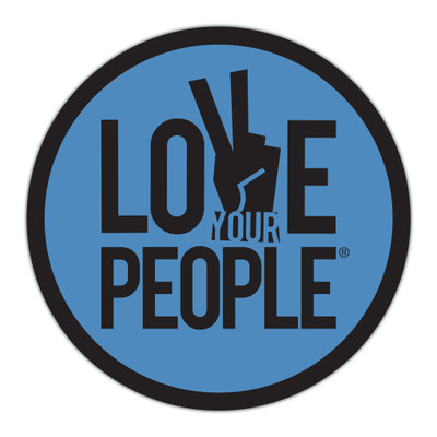 Love Your People Stickers - round