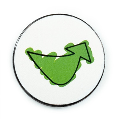 Smile & Move Lapel Pin