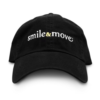 Smile & Move Cap (black)
