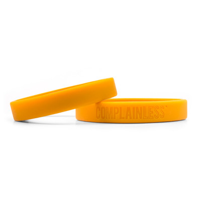 ComplainLess Wristbands (orange)