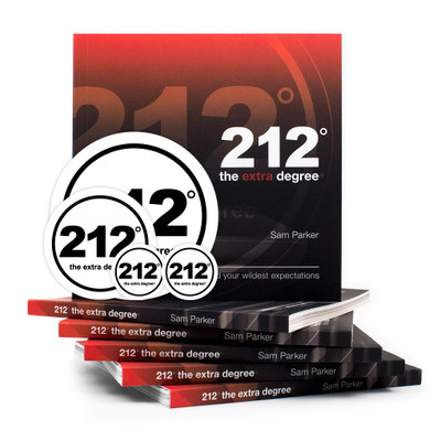 212° the extra degree Book and Sticker Set
