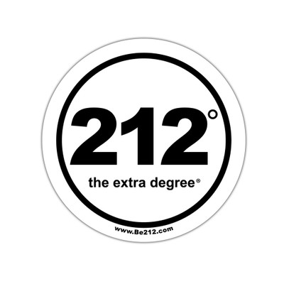 212° Stickers - small (official logo)