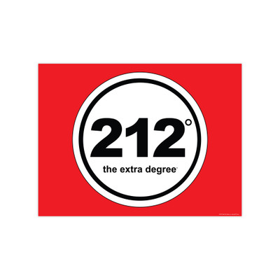 212° Logo 12x9 mini-Poster (horizontal)