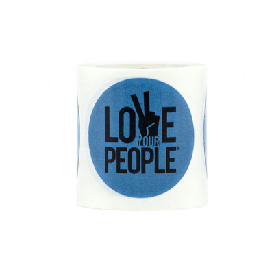 Love Your People Roll of Stickers