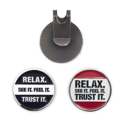 212° Golf Ball Marker & Hat Clip Set