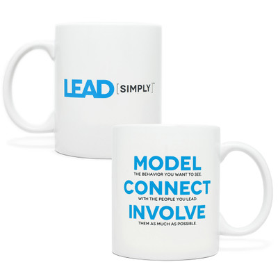 Lead Simply Mug (white - 11 oz)