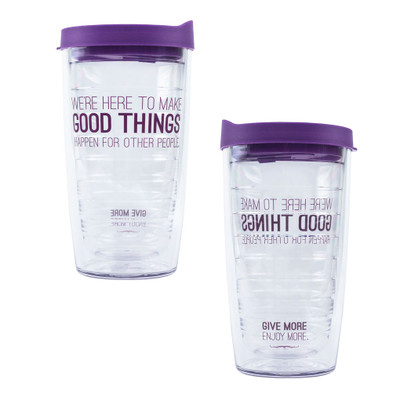 Make Good Things Happen Tervis Tumbler (horizontal - 16 oz)