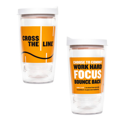 Cross The Line Tervis Tumbler (16 oz)