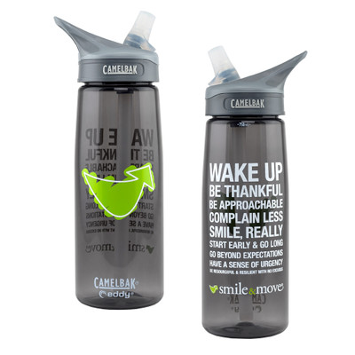 Smile & Move Water Bottle (CamelBak brand - 25 oz)