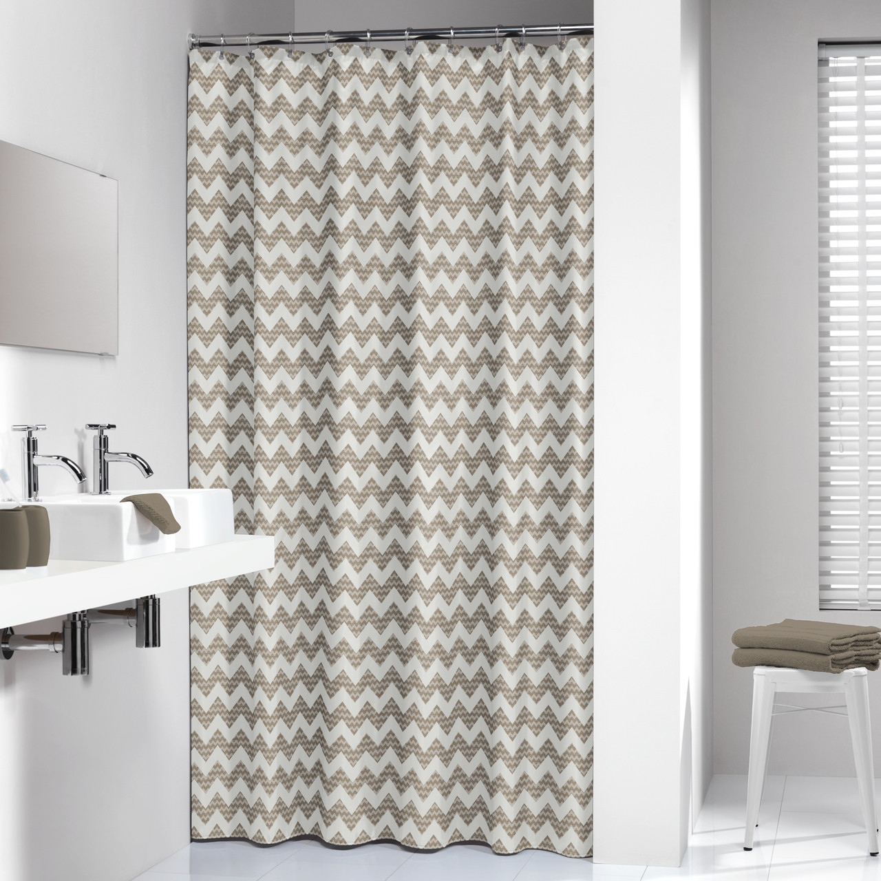 cloth picture of beige bathroom pretty cotton fabric elegant shower curtains curtain for claire