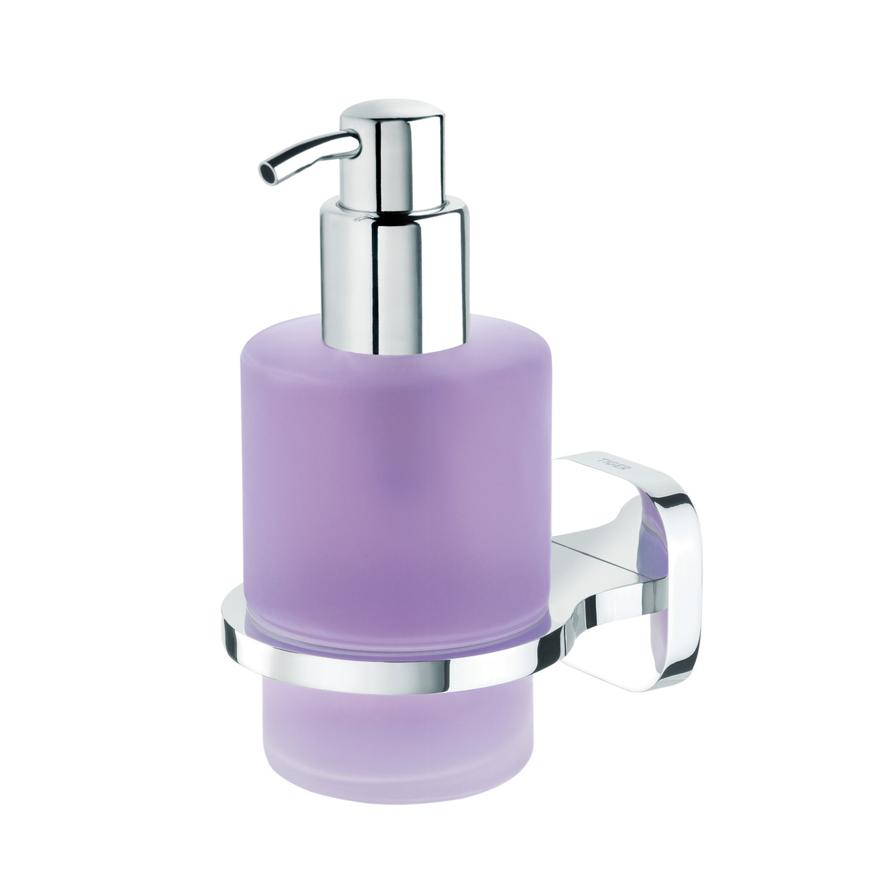 Soap Dispenser Tiger Ramos Glass And Polished Stainless Steel