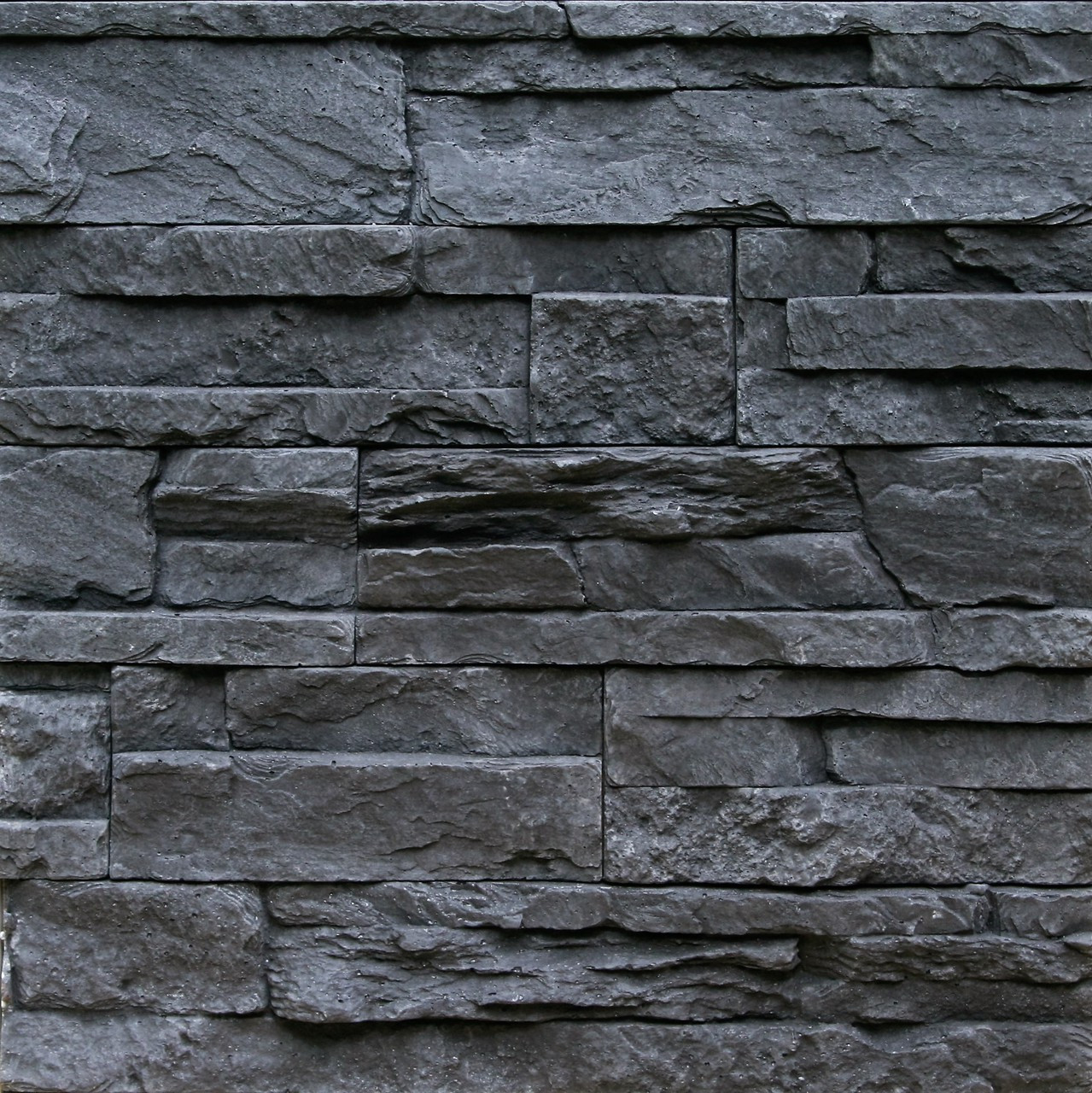 Interior Stone Veneer Products : Thin manufactured stone veneer odyssee charcoal box
