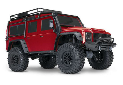 Traxxas 82056-4 TRX-4 1/10 Scale and Trail Defender RC Crawler RTR