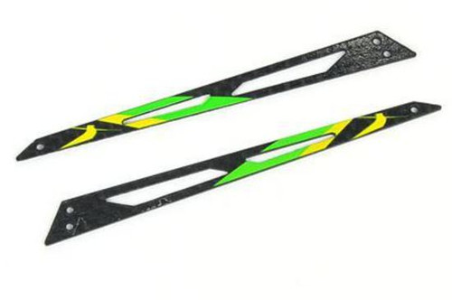 B130X12-G Xtreme Carbon Tail Boom Support Green: BLADE 130 X