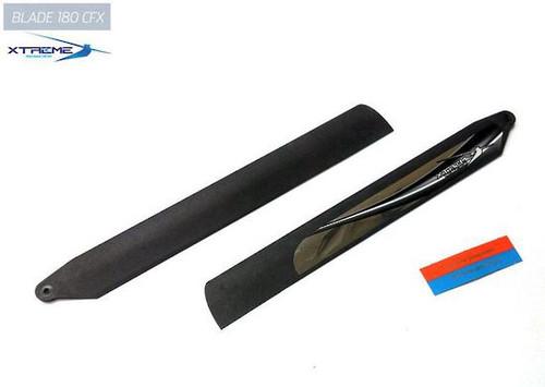 B180X10-K - Xtreme Carbon Polymer Main Blade, Heavy Stable : BLADE 180CFX