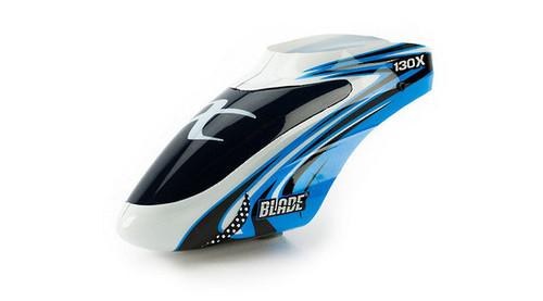 BLADE BLH3722A Blue / White Option Canopy: BLADE 130 X