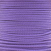 Acid Purple with Silver Gray Diamond - 550 Paracord - 100 Feet