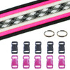 Breast Cancer Awareness Paracord Crafting Kit #1