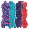 """1/4"""" Twisted Cotton Rope Kit - Flora  - 40'"""