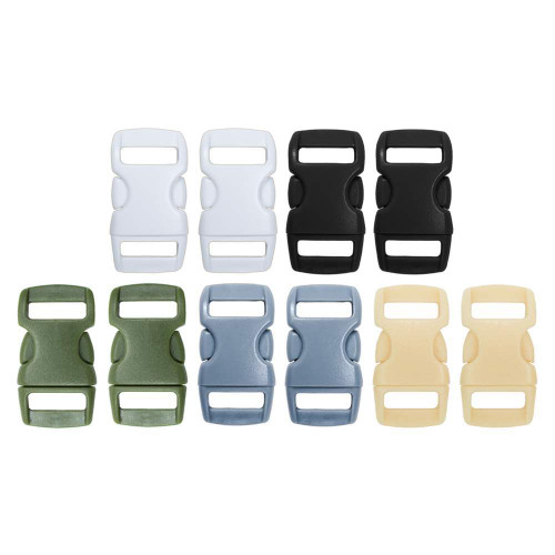 3/8 Inch Buckles (10 Pack) - Tactical