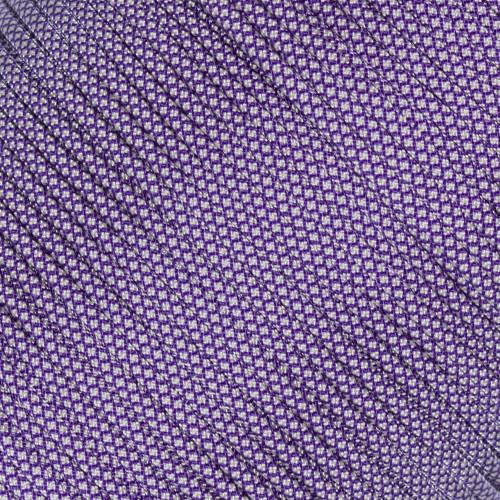 Acid Purple with Cream Diamonds - 550 Paracord