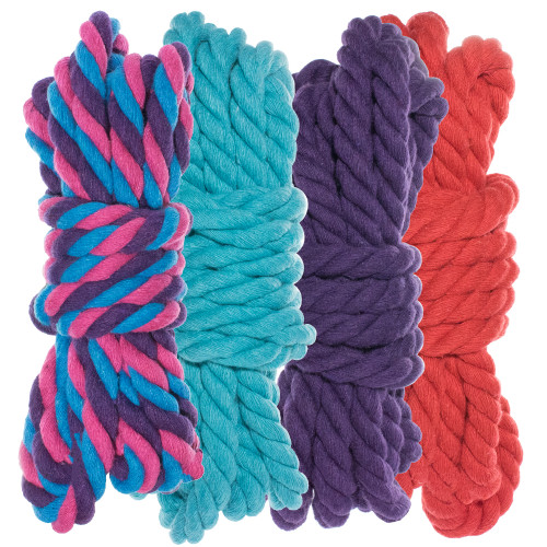 """1/4"""" Twisted Cotton Rope Kit - Flora"""