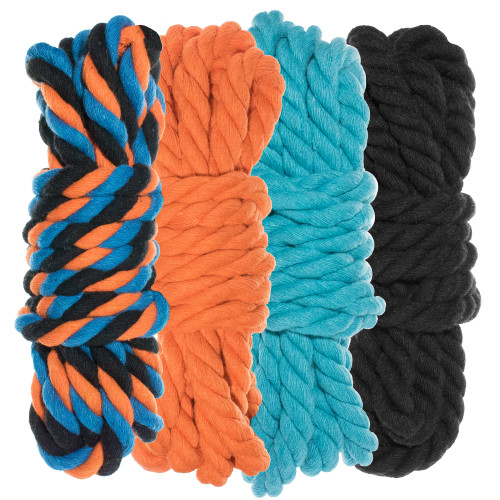 "1/4"" Twisted Cotton Rope Kit - Twisted  - 40'"