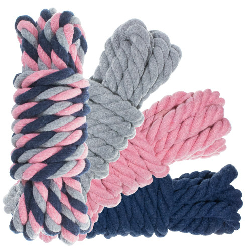 "1/2"" Twisted Cotton Rope Kit - Dusty"
