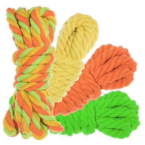 "1/2"" Twisted Cotton Rope Kit - Sour Patch"
