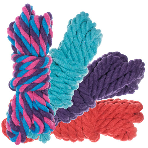 """1/2"""" Twisted Cotton Rope 40' Kit - Flora"""