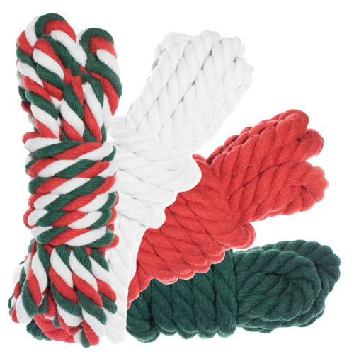 """1/2"""" Twisted Cotton Rope 40' Kit - Jolly"""